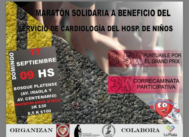 Maratón a beneficio del Servicio de Cardiología