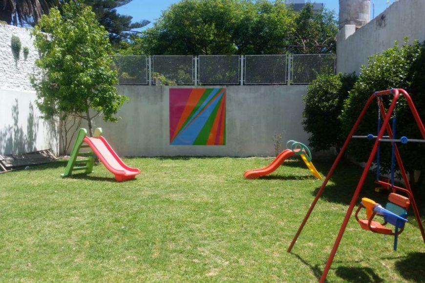 Un nuevo mural para la Casa Ludovica