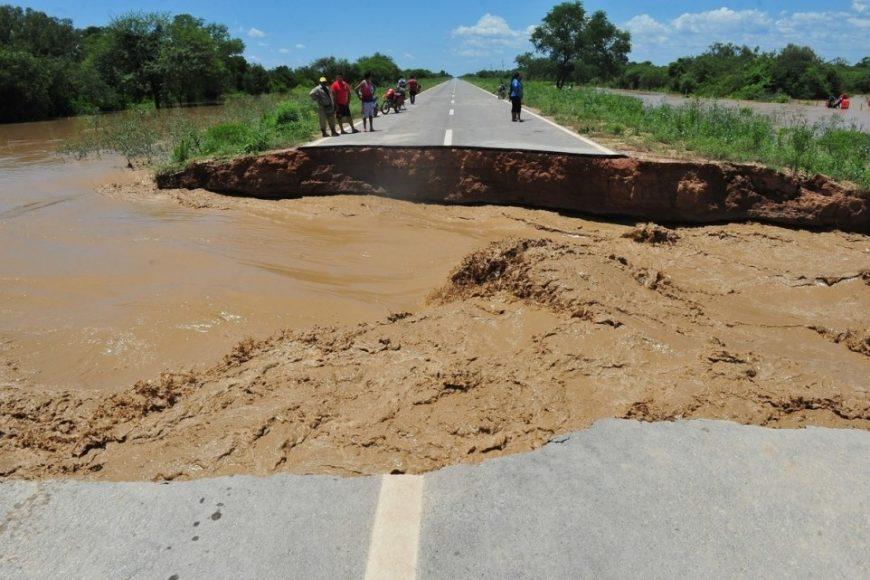 Por los inundados en Salta