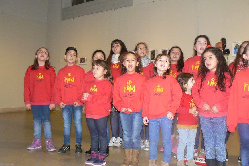 El Coro de Niños, en el Ciclo Mumart