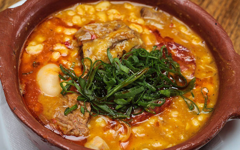 Locro a beneficio