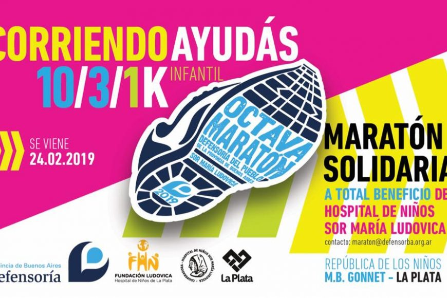 Maratón solidaria