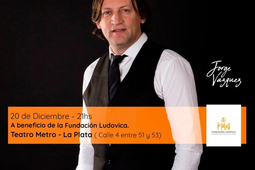 Recital de Jorge Vázquez a beneficio de la Fundación