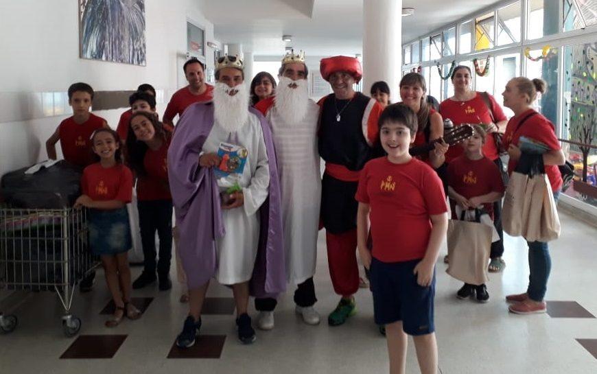 Los Reyes Magos pasaron por el Hospital y la Casa Ludovica