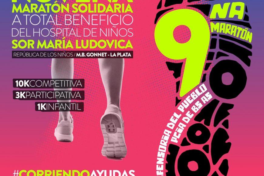 Todo listo para la novena Maratón Sor María Ludovica