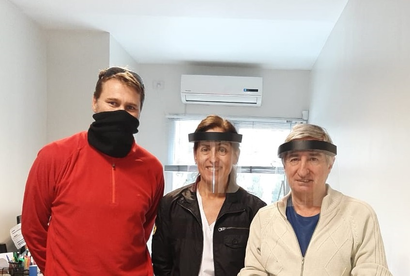 Máscaras de protección y barbijos para hacer frente al coronavirus