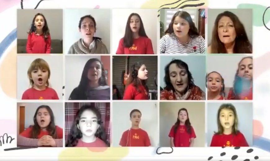 El Coro de la Fundación Ludovica cantó para la ciudad