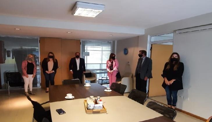 La Casa Ludovica recibió la visita de las legisladoras Florencia Saintout y María Laura Ramírez