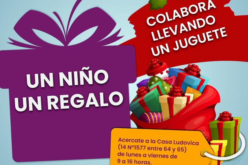 """La Fundación Ludovica lanza la campaña navideña """"Un niño, un regalo"""""""