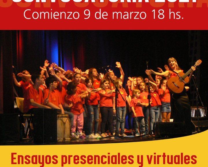 Coro de Niños.Convocatoria 2021