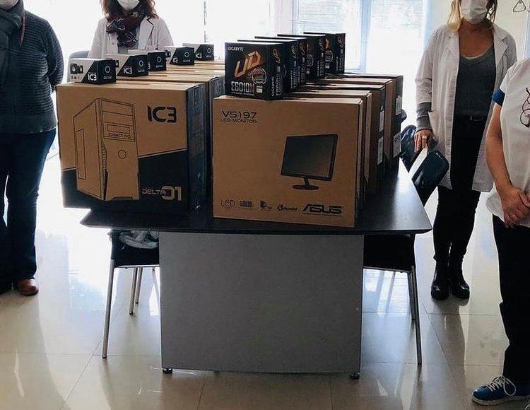 La Fundación Ludovica compró 5 computadoras para el Hospital de Niños