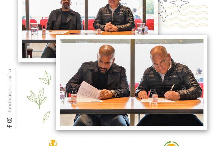 Nuevo convenio entre la Fundación Ludovica y la Fundación Estudiantes de La Plata
